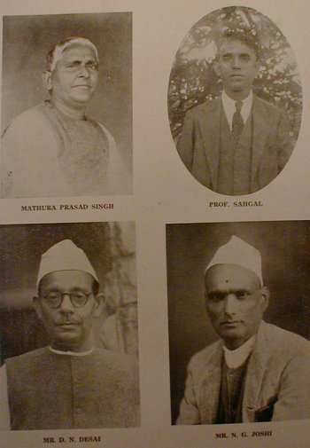 Portraits of Freedom Fighters of India
