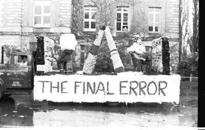 The float called `Final error`, 1963