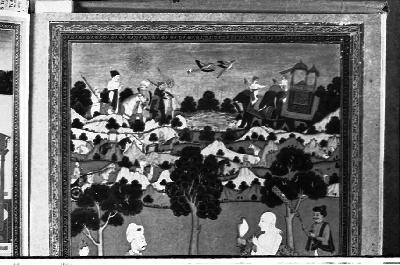 A photo copy of a Deccan school of painting,1984