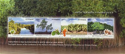 First Day Cover: Mangroves