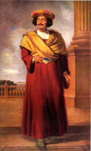 Kamat S Potpourri Oil Painting Of Raja Ram Mohan Roy