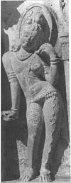 Ardhanarishwara (half man, half woman)