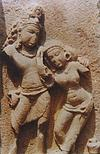 Romance of Shiva and Parwati