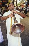 Musician at a Temple Procession