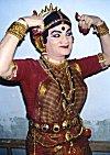 A Yakshagana Artist Poses