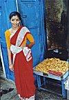 A Snack Vendor in Malleswaram