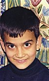 Portrait of a young Kashmiri Boy