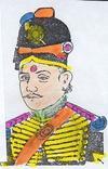 Military Attire of Jamadar Muddu Krishna Singh