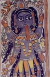 Four Armed Ferocious Goddess