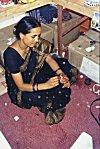 A Woman Artist at Work