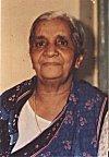 A Hindu widow sans vermilion