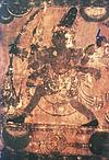 Shiva with Bow and Arrow Shooting the Boar