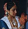 Henna Designs on a Brides