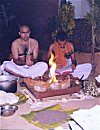 Sacrificial Fire (Homa)  Offerings