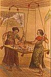 Women Entertaining an Infant