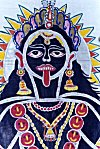 The Black Goddess Kali