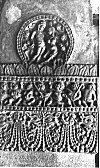 Elaborately Decorated Pillar, Badami cave