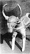 Ghareva art � bell metal bull cast by a tribal artist