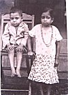Konkani children from a picture of 1950s