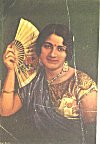 Woman with a Decorative Fan