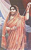 Sarojini Naidu Spinning Yarn