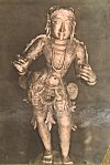 Metallic icon of Hoysala king Vishnuvardhana
