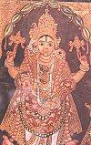 Painting of Lord Vishnu