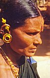 A Farmer Woman with Her Ornaments