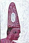 Diamond Studded Headgear of a Medieval Nobleman
