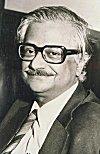 Dr. Raja Ramanna. An atomic energy expert