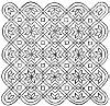 Complex Designs Including Lotus, Swastika Designs