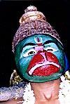 Man Dressed as Hanuman the Monkey
