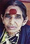 """Sumangali""  -- Portrait of a Traditional Indian Woman"