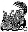 Lord Vishnu and Laxmi relaxing on the five-hooded cobra Shesha