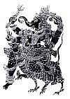 Riding Ganapati in a Kavi Wall Mural