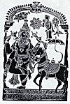 "Lord Vishnu in ""Kalkyavatar"""