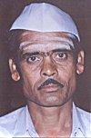 Legendry Mahatma Gandhi white cap.