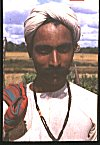 A Man belonging to  Native Maratha (kad-maratha) Community