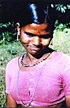 Girl belonging to the Konkani Kunibi Tribe