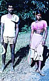 Laborer Siblings on way to Forest