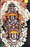 Metal idol of Goddess Yellamma