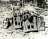A Group of Memorials at Barsur in Bastar