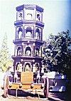 Temple on Wooden Wheels, Goa