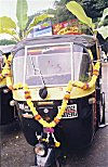Decorated Auto-rickshaw