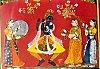 Krishna Rajasthani Painting