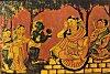 Hanuman takes Rama