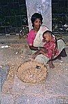Peanut Vendor with a Child
