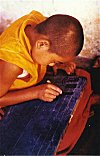 Buddhist Student Practices Handwriting