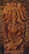 Five Headed Icon of Lord Ganesh