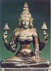 Metallic Icon of Devi